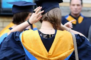 Graduate salaries are rising by up to 25 per cent after five years in Broxtowe.