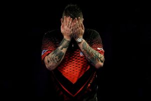 There was World Matchplay final agony for Michael Smith