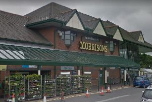 The Morrisons in Mansfield.