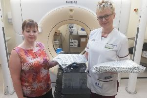 Radiotherapy patients are to be given their own brand new treatment gown.