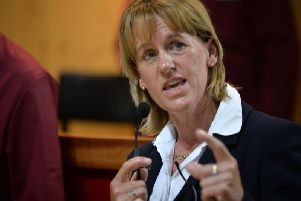 Minette Batters, president of the National Farmers' Union. Picture by Bruce Rollinson.