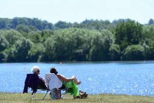 The Met Office has forecast a hot sunny day for Nottinghamshire.