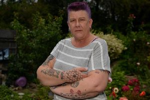 Local resident Tracey Greatorex is concerned about gangs on the Carsic estate, Sutton
