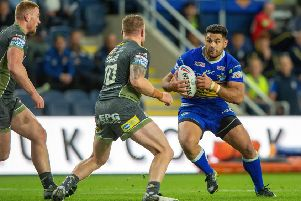 Leeds Rhinos' Rhyse Martin. comes up against Warrington Wolves at Headingley on Friday. 'Picture: Bruce Rollinson