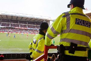 Police are urging fans to act responsibly at the game.