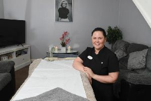 Gemma Hynd has Gems Holistic Massage Therapy from her home in Stanifield Lane, Farington