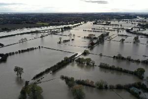Flooding hit the Yorkshire Village of Fishlake earlier this year - Pic Copyright: Getty Images