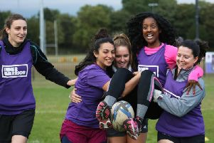 Preston Grasshoppers is inviting women to unleash their inner warrior and kick off the New Year with a rugby camp.