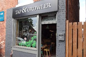 The Tap And Growler, which was the first micropub to open in Eastwood, according to CAMRA records.