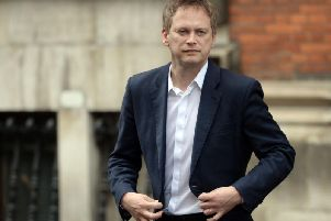 Transport Secretary Grant Shapps. Pic: PA