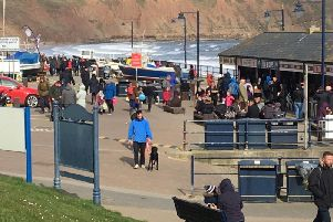 A busy Filey last weekend.