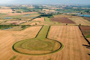 Thornborough Henges dates back to over 5,000 years ago. Photo by Dave MacLeod, English Heritage.