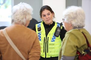 Police officers will be offering welfare advice to older people in Filey.