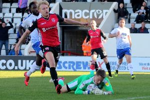A-Jay Leitch-Smith came off injured against Crewe Alexandra last time ou