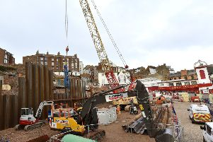 The work continues on the Futurist site . pic Richard Ponter