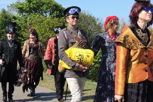 CBBC will be filming at this year's Filey Steampunk Festival in May
