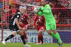 Shrimps' skipper Barry Roche kept his first clean sheet of the season when they drew with Cheltenham Town at the weekend