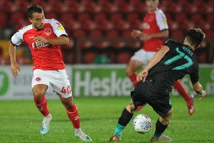 Dan Mooney was one of the Fleetwood Town youngsters to feature in midweek