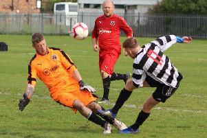 Sunday Alliance action between Freckleton and Highlands'Picture: KAREN TEBBUTT