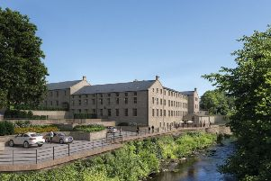 Glasshouses Mill in Nidderdale has been renovated by North Yorkshire property developer Newby and is to be launched on the market on October 12.