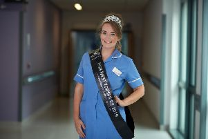 Emma Day who works at Pinderfields Hospital and lives in Dewsbury, was crowned Miss West Yorkshire.