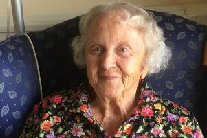 Edna Dewhurst, of Blackpool, has just celebrated her 107th birthday