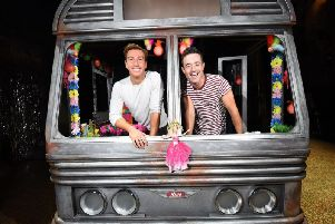 Behind the scenes look at Priscilla Queen of the Desert at the Opera House with Joe McFadden and Nick Hayes