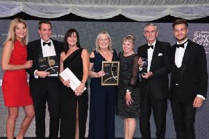 The award winning Pontefract Racecourse team, who were crowned Champion Racecourse at Showcase 2019.