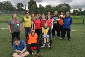 Fleetwood Town Community Trust supported the English Football League's Day of Disabilities