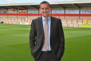Andy Pilley urged Fleetwood Town supporters to vote Conservative