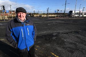 Coun Stephen Clarke says the section of Broadway at the junction with Rossall Lane has a shocking road surface that is not being addressed