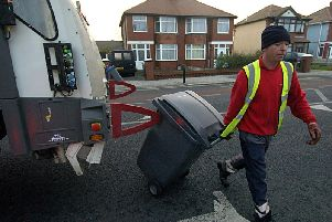 Bin collection times in Wyre over festive period