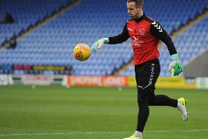 Alex Cairns is set to make his 100th League appearance for Fleetwood Town at Bradford City