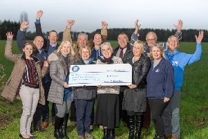 St Helen's Farm presents five local good causes with more than �80,000.