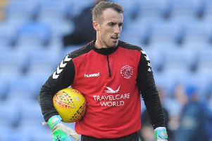 Fleetwood Town's Alex Cairns