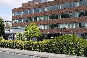 The Civic Centre in Leyland, the headquarters of South Ribble Borough Council