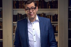 Richard Osman, host of Channel 4's Child Genius