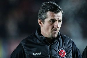 Fleetwood Town boss Joey Barton knows what he wants of his players