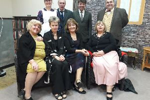 Lancastrian Players in rehearsals for Trespass