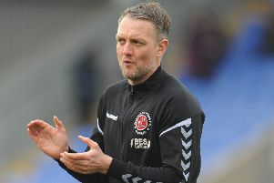 Fleetwood Town coach Clint Hill
