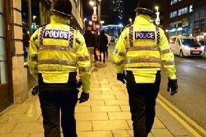 Police have the power to stop and search anyone in the designated area.