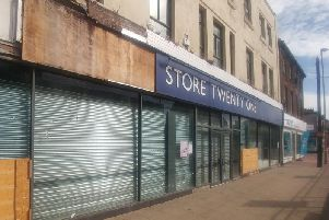 The empty Store 21 store on Lord Street, Fleetwood