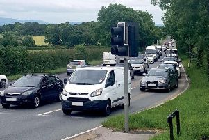 The A585