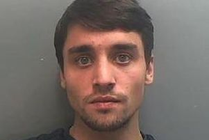 A 3,000 reward is being offered for information leading to the arrest of wanted man Louis Simpson, 25, from Liverpool.