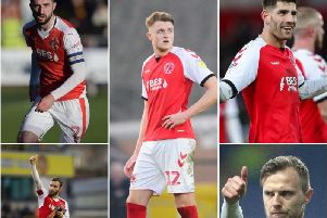 Conor McLaughlin, Jimmy Ryan, Harry Souttar, Ched Evans and David Ball