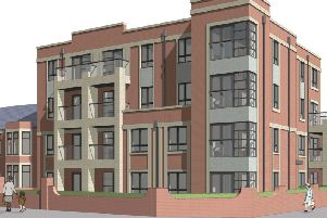 Artist's impression of the new Marine View apartments development earmarked for The Esplanade on Fleetwood seafront