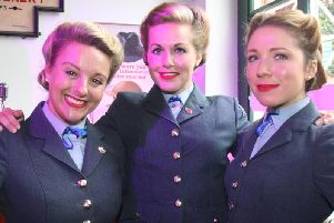 Katie Ashby, Nichola Roberts and Stacey Woods of the D-Day Darlings, who placed fourth on Britain's Got Talent 2018.