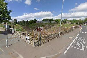 Site of the proposed housing development in Brighouse (Google Street View)