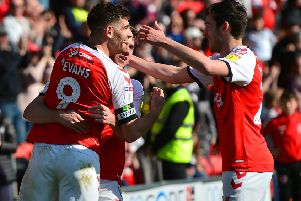 Ched Evans is at Fleetwood Town on a permanent basis