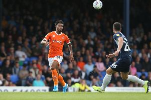 Nuttall has made two appearances off the bench for Blackpool so far this season